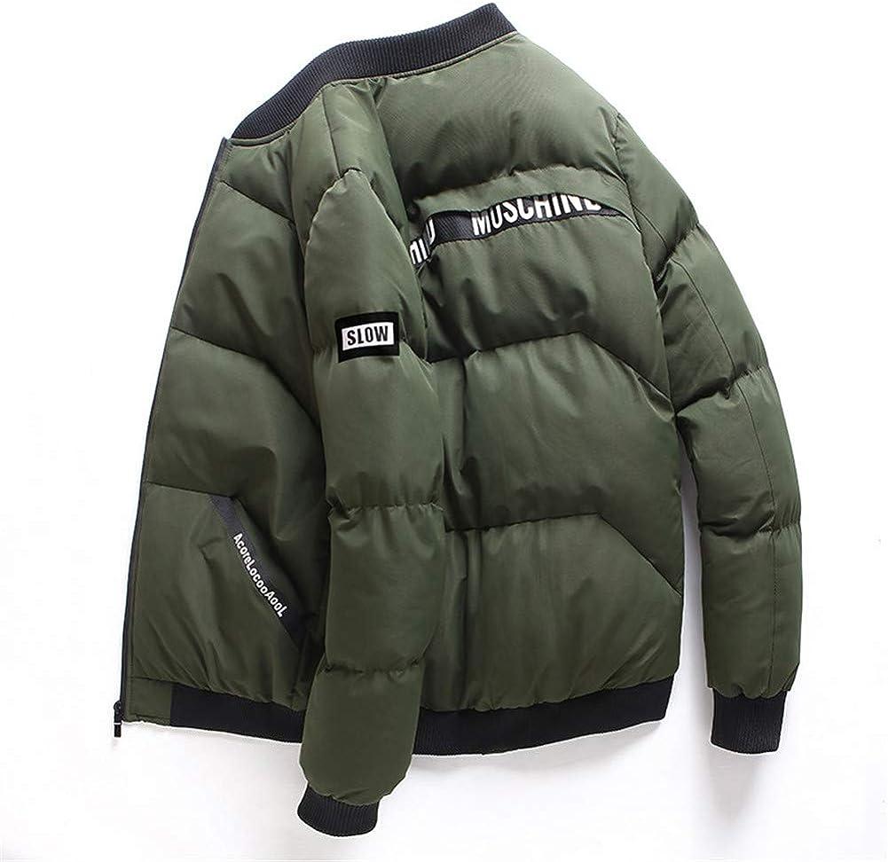 EFFIE Men's Casual Hooed Hoodies Pure Cotton Warm Winter Jacket Coats (ArmyGreen, XXXL)