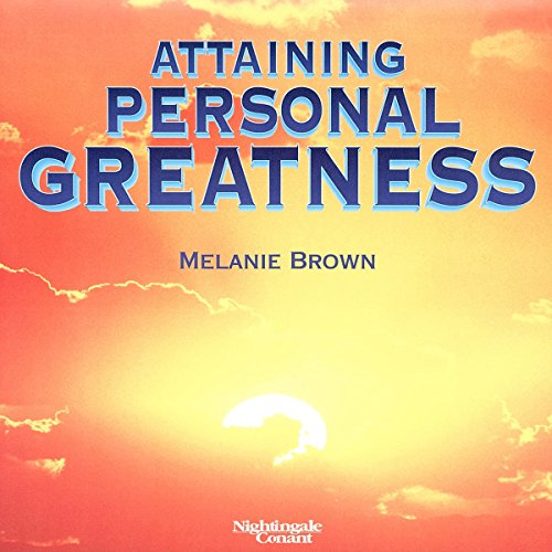 Attaining Personal Greatness audiobook cover art