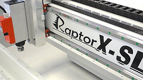 Fräsmaschine / Portalfräse RaptorX mit Stahlrahmen - 3200x2010mm - CNC-STEP