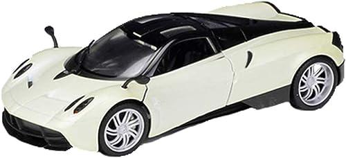 Maisto 1 24 Pagani Huaya Huayra Fengshen Peak Legierung Kinder Spielzeugauto Simulation Metall Ornamente Sammlung Simulation Miniaturmodelle Fahrzeuge (Farbe   Weiß)