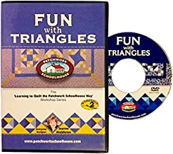 Quilting: Patchwork Schoolhouse teaches Fun with Triangles on DVD, Lesson 2 of 7