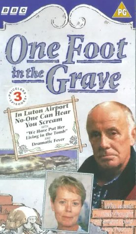 One Foot In The Grave - In Luton Airport No-One Can Hear You Scream