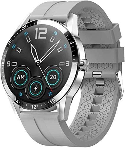 Reloj inteligente Bluetooth llamada Full Touch Watch Monitor Smartwatch para hombre y wpmen-F