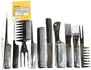 Magic 10 Piece Professional Styling Comb Set (BONE)