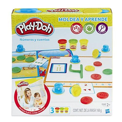 Play-Doh Aprende a Contar números, (Hasbro B3406105)