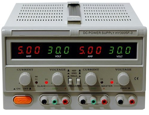 Triple Linear DC Power Supply, 30V, 5 Amp - EX ELECTRONIX Express