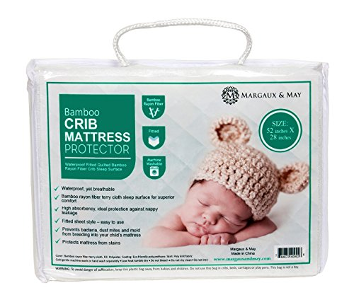 Ultra Soft Crib Mattress Protector Pad by Margaux...
