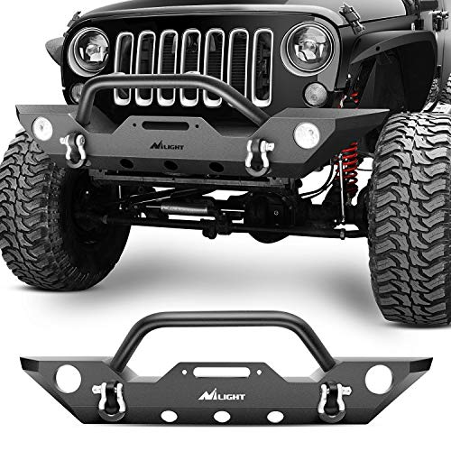 Nilight Front Bumper Compatible for 07-18...