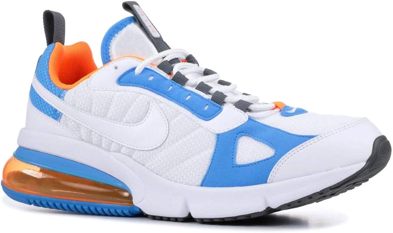 Nike Men's Air Max 270 Futura White Total orange bluee Heron AO1569-100