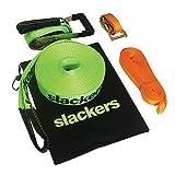 Slackers Slackline Classic, 15 m lang, 5 cm breit mit Hilfsseil