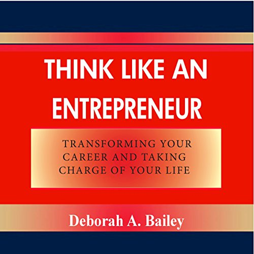 Think like an Entrepreneur audiobook cover art