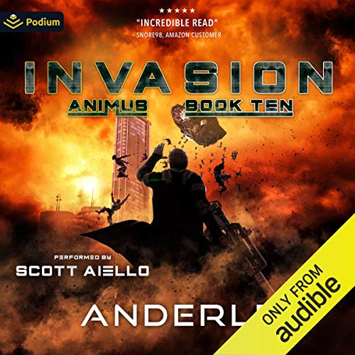 Invasion Audiobook By Joshua Anderle, Michael Anderle cover art