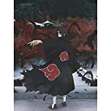 Full Square Drill DIY Diamond Painting for Naruto Uchiha Itachi Sticker Picture 5D Anime Character Cross Stitch Beadwork by Number Kit Embroidery 12x16inch