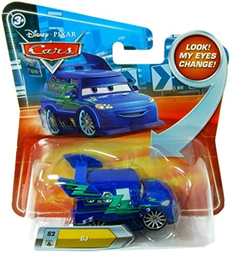Disney Pixar Cars Fahrzeug DJ Look my eyes change P7168