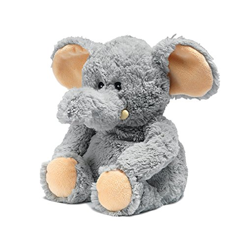 Warmies Plush Heat Up Microwavable Soft Cuddly Toys With A Lavender Scent, Elephant