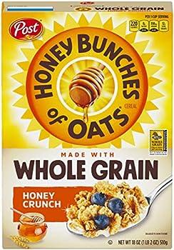 Post Honey Bunches of Oats Whole Grain Honey Crunch 18 oz.