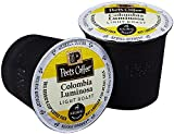 Peet's Coffee Colombia Luminosa (Luminosa Breakfast Blend) Light Roast K Cup Coffee for Keurig K-Cup Brewers 40 count