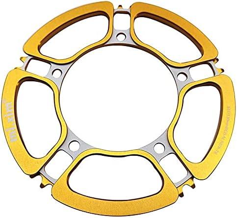Excellent MUZIWENJU Folding Bicycle Chainring 130BCD Bike Max 51% OFF Wid Crankset 53T