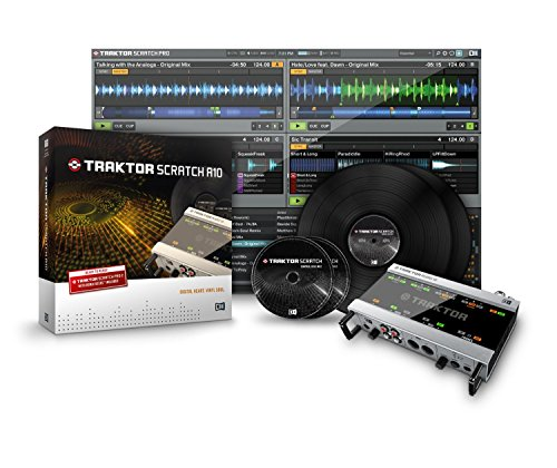 NATIVE INSTRUMENTS Traktor Scratch A10 (scheda audio 10 + software traktor scratch pro 2 + timecode vinyl/cd)