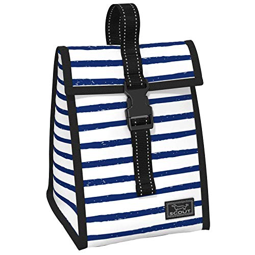 SCOUT Doggie Bag Insulated Lunch Bag, Water-Resistant, Lightweight, Soft Cooler Lunch Box with Buckle Closure, Exterior Pocket, and Top Handle