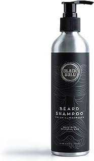 Black Bull Beard Shampoo Fresh Lumberjack, Deep Cleaning with Eucalyptus, Rosemary, Mentha Oils, and Menthol 250ml