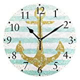 Shutterstock_428043244 Relojes de Pared con Pilas Reloj de Pared Redondo Decorativo para el hogar Cocina Dormitorio Sala de Estar Aula Reloj de Oficina