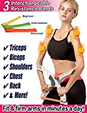 Scarmat Workout Equipment for Home Workouts Arm Machine System Excerise with 3 System Resistance...
