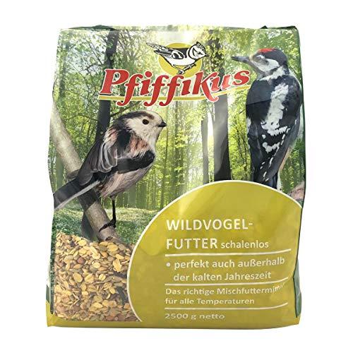 Pfiffikus Wildvogelfutter Pfiff Wildvfu. schalenlos 2,5kg