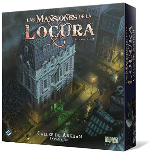 Fantasy Flight Games- Mansiones de la Locura - Calles de Arkham - Español, Color (FFMAD25)