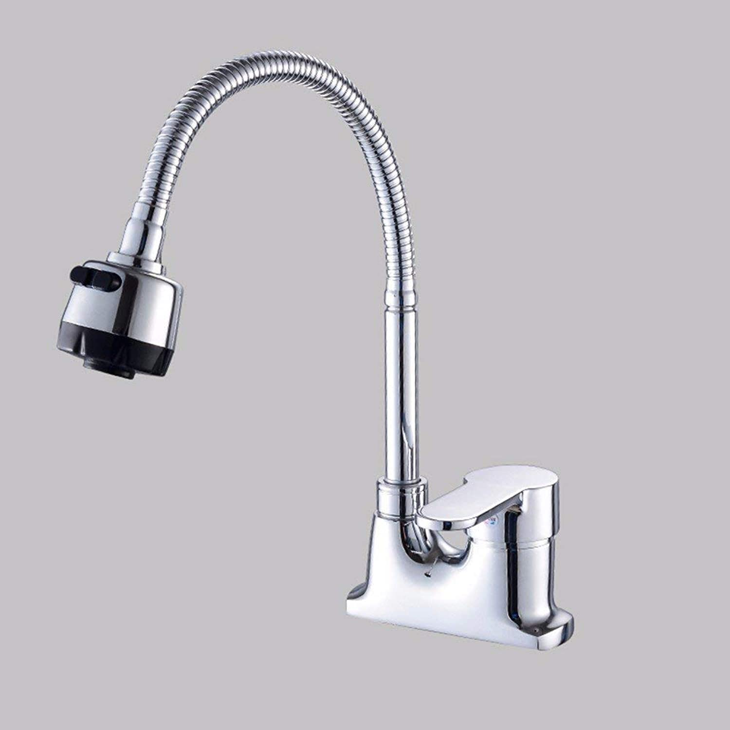 Oudan Basin Mixer Tap Bathroom Sink Faucet Stainless Steel, redation, hot and cold, three hole basin, sink faucet 2 (color   8)