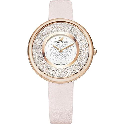Swarovski Crystalline 5376086 - Reloj de pulsera para mujer, color rosa