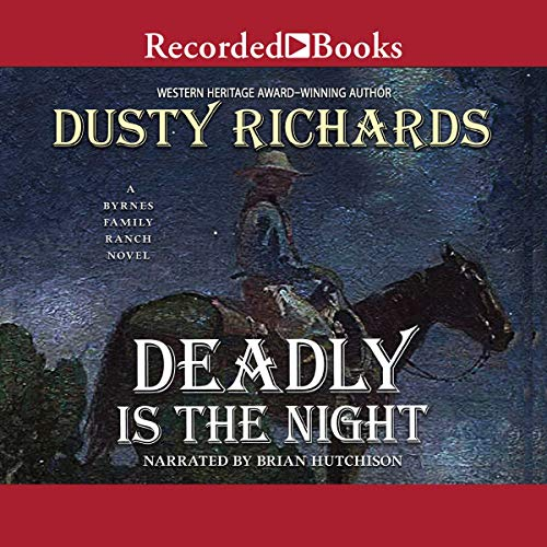 Deadly Is the Night audiobook cover art