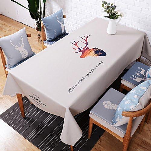 Tischdecke Tischdecken aus Leinen und Baumwolle Tischdecken und Tischdecken aus europ chem Stofürechteckige und dicke Tischdecken Frische und dicke Tischdecken Tischdecken aus Baumwolle 140  230cm ( Farbe   B , Größe   140230cm )
