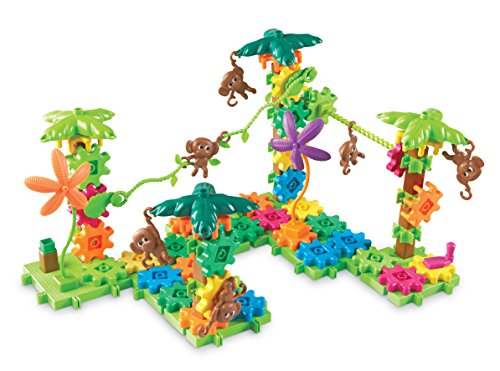 Learning Resources- Monos en Movimiento Movin' Monkeys Gears, Color (LER9119)