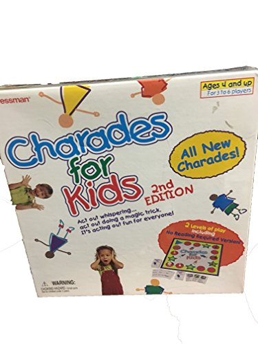 Charades For Kids 2nd Edition
