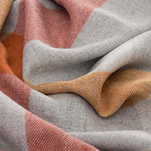 Lorenzo Cana High End Luxus Alpakadecke aus 100prozent Alpaka - Wolle vom Baby - Alpaka flauschig weich Decke Wohndecke Sofadecke Tagesdecke Kuscheldecke 96284