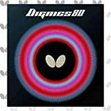 Butterfly Dignics 80 Table Tennis Rubber Table Tennis Rubber   1.9 mm or 2.1 mm   Red or Black   1...