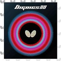 バタフライ(Butterfly) 卓球 ラバー ディグニクス 80 裏ソフト ハイテンション レッド 厚 06050 14-029