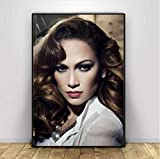 N/W Leinwand Poster Jennifer Lopez Poster Wandkunst Drucke