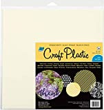 Grafix Craft Plastic Sheets 12'X12' 25/Pkg-Opaque White .010, Multi