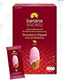 Banana Society Strawberry Dipped Solar Dried Banana 250 g. Thailand product