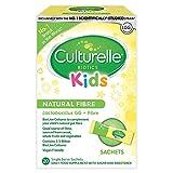 Culturelle Kids Biotics Natural Fibre Daily Supplement for Children   20 Sachets   2.5 Billion Live Bacterial Cultures + Fibre   Lactobacillus Rhamnosus GG Strain   Vegan   Gluten Free
