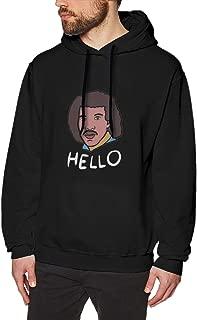 Cellars Ola Men Lionel Richie. Black Hoodie Sweatshirt