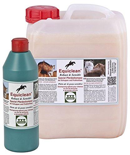 EQUICLEAN Shampooing spécial robuste et sensible 10 litres