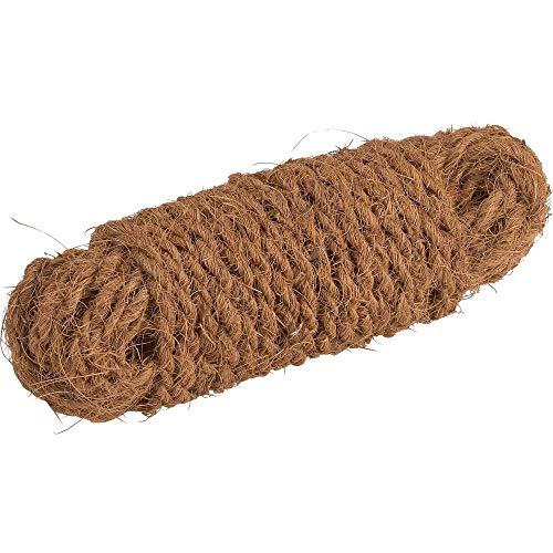 Meister Kokos-Seil 15 m - Zum Binden, Dekorieren & Verpacken - Pflanzenschonendes Bindematerial - Reißfest & witterungsbeständig - Aus natürlichen Kokos-Fasern / Paketschnur / Gartenkordel / 9968800