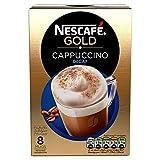 Nescafé Gold Cappuccino Decaf, 8 Sachets x 15 g - Pack of 6, Total 48 Sachets