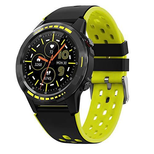 AEF Smartwatch para Hombres Mujeres Niños, Reloj Inteligente Impermeable IP68 con Monitor De Sueño Podómetro Caloría GPS para Deporte,1