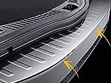 Para Ford Mondeo 4 IV Estate 2007-2015 acero inoxidable cromado parachoques trasero protector de umbral