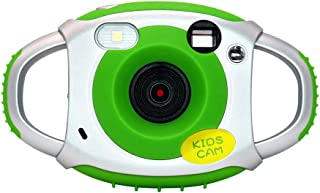 Honeytecs Kids Digital Camera 8MP Photo 1080P Video 2.0 Inch IPS Screen Built-in Lithium Battery with Lanyard USB Charging Cable Birthday Festival Children Boys Girls