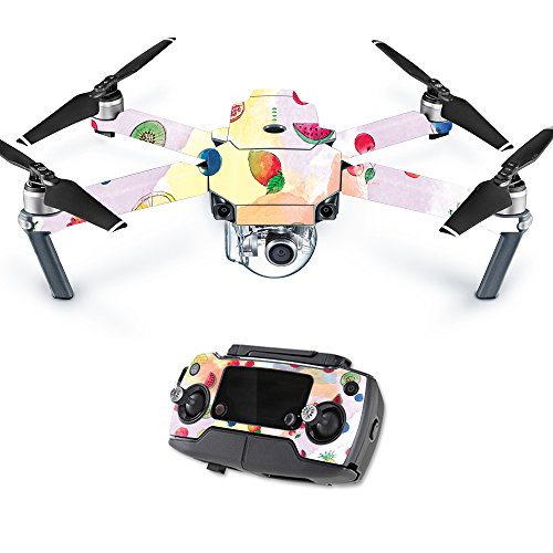 MightySkins Skin Compatible with DJI Mavic Pro Quadcopter Drone - Fruit Water | Protective, Durable, and Unique Vinyl Decal wrap Cover | Easy to Apply, Remove, and Change Styles | Made in The USA